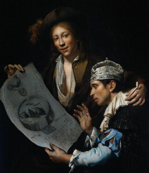 Аллегория Года несчастий, худ. Я. ван Вейкерслот (1673)