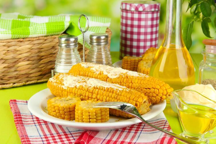 Царица полей – кукуруза. Что можно приготовить? Самое простое – вареная кукуруза!