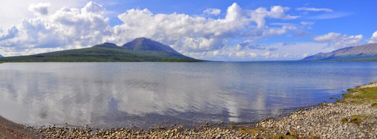 Горное озеро, плато Путорана