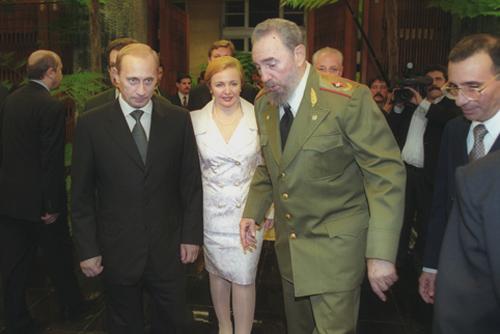 Встреча Фиделя Кастро с Президентом России В. В. Путиным. Декабрь 2000 года
