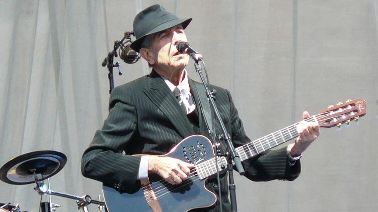 Леонард Коэн в Эдинбурге, Шотландия, 2008 год