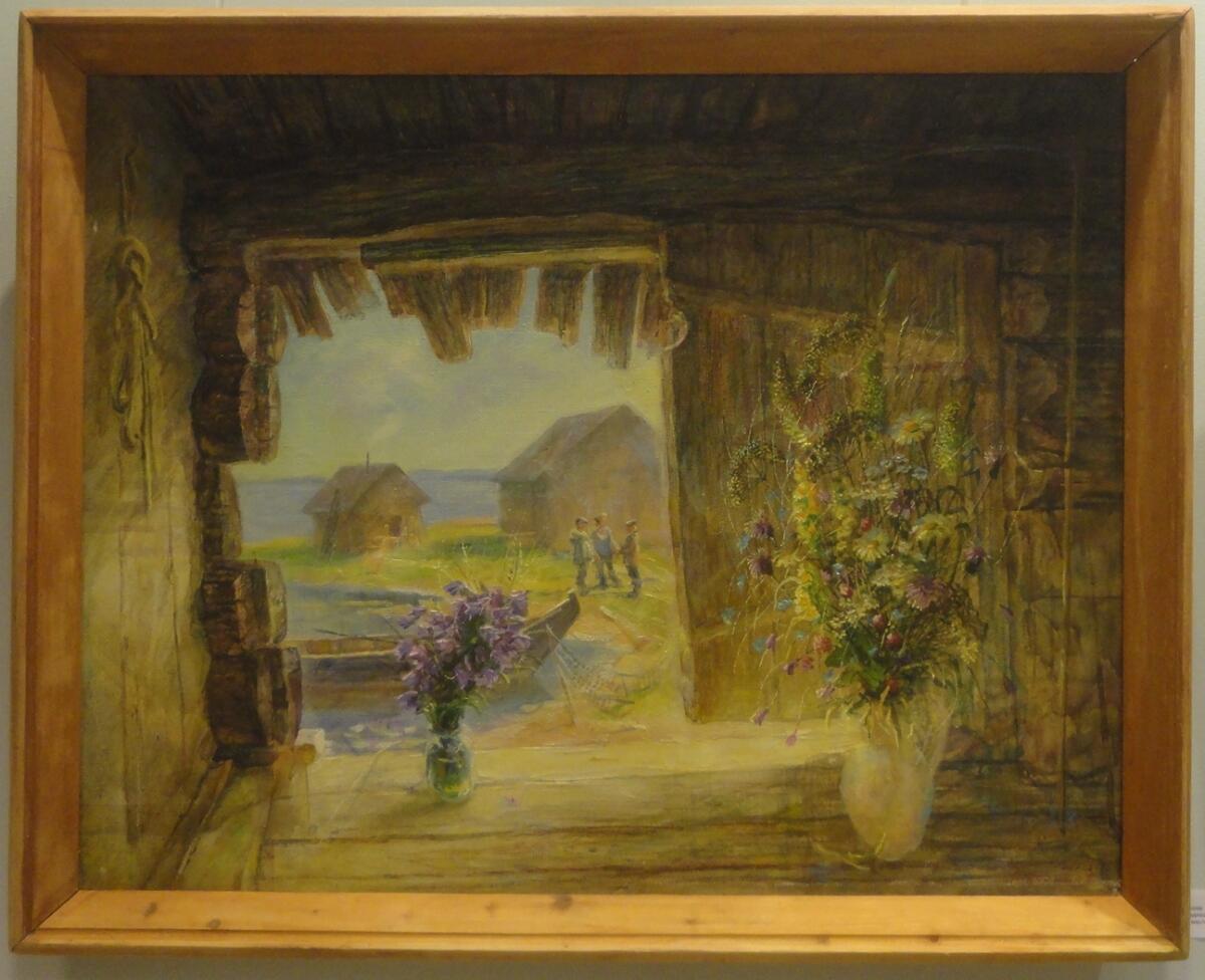Б. Кукшиев. На Водлозере. Холст, масло, 2009 г.
