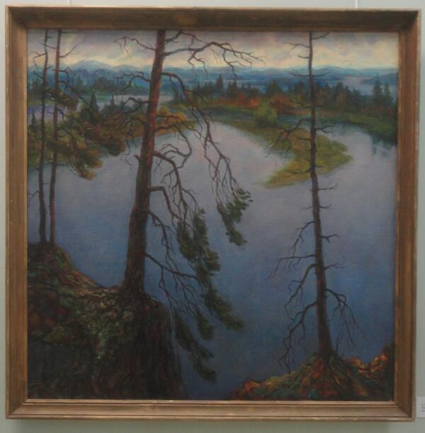 Б. Кукшиев. Северные дали. Холст, масло, 2006 г.