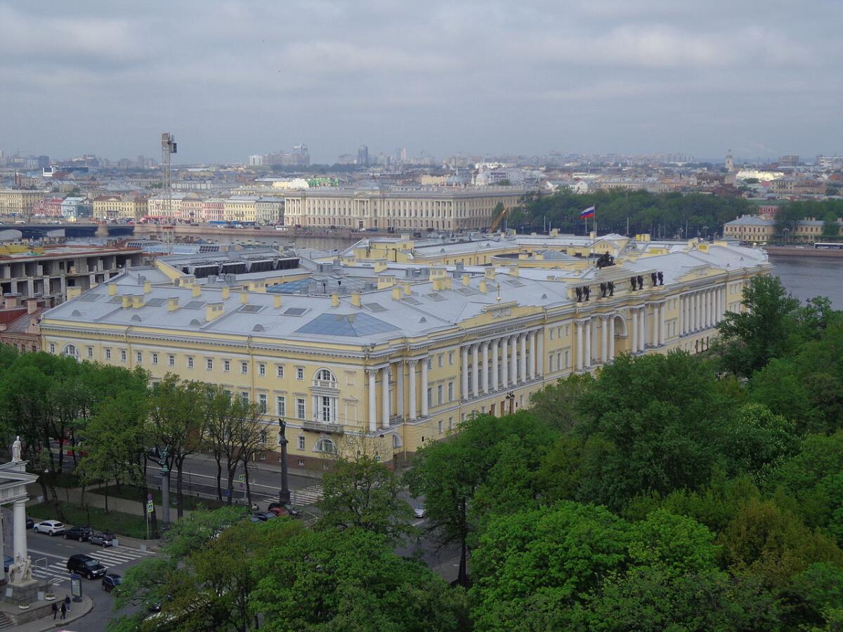 Сенат и Синод, Санкт-Петербург, Адмиралтейский район