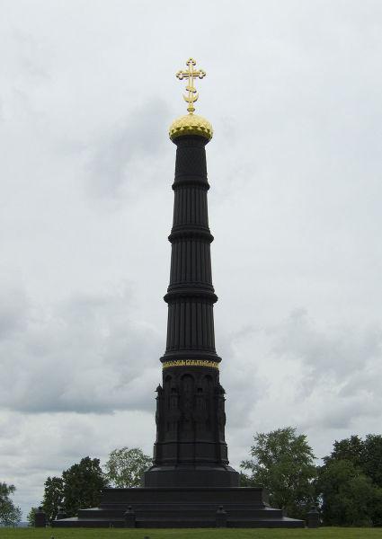 Памятник в честь победы на Куликовом поле, воздвигнутый по инициативе С. Д. Нечаева в 1848 году