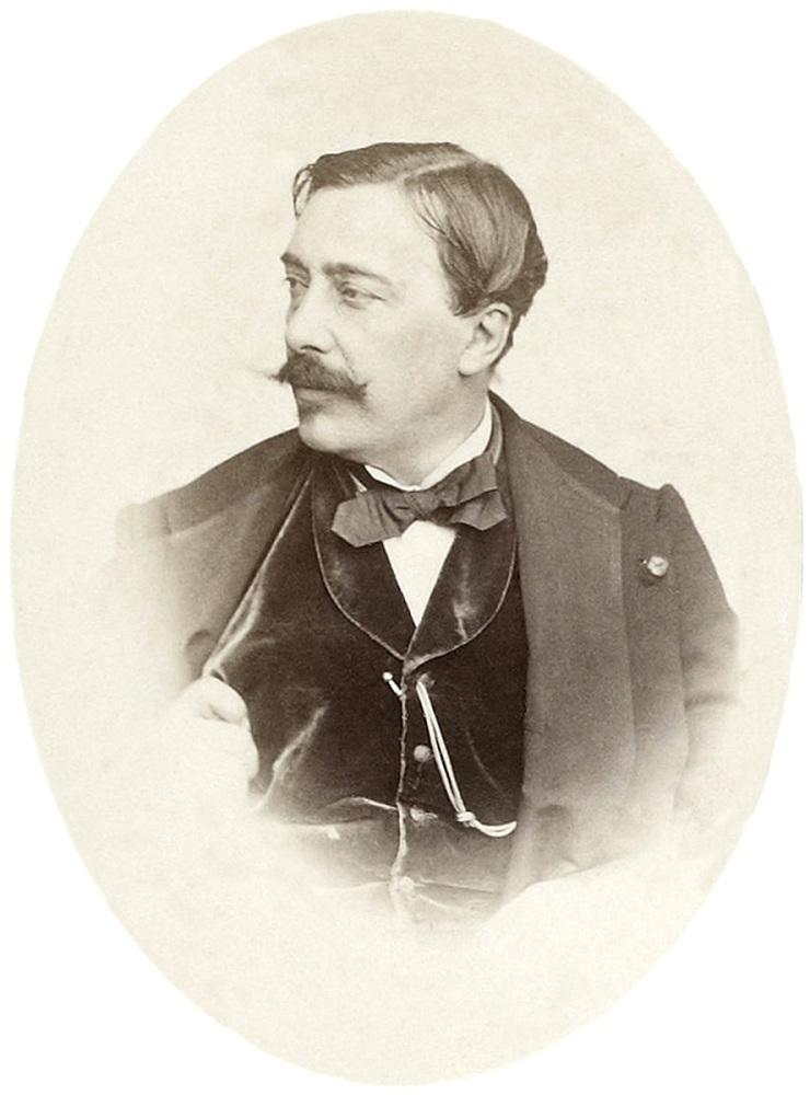 Альфред Эмиль Леопольд Стевенс, портрет из альбома Эдуарда Мане, 1865 г.