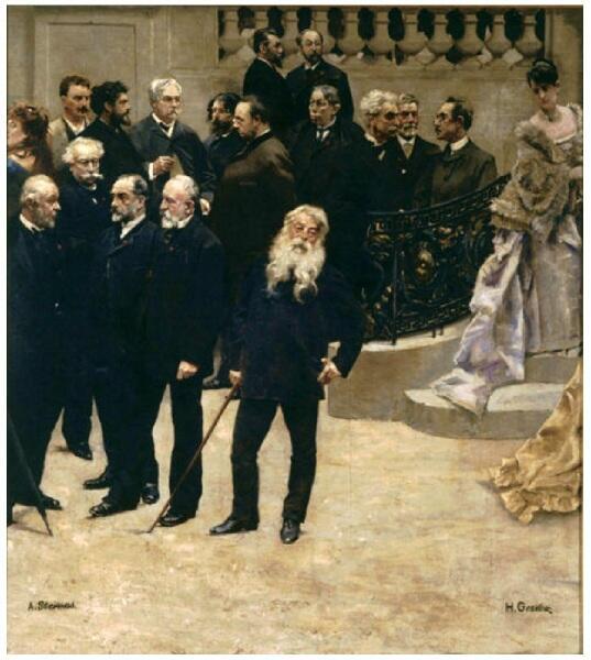 Альфред Эмиль Леопольд Стевенс, «Панорама столетия 1789-1889», 1889 г., фрагмент