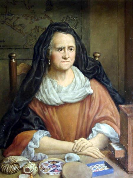 Мария Сибилла Мериан, портрет работы Георга Гзеля