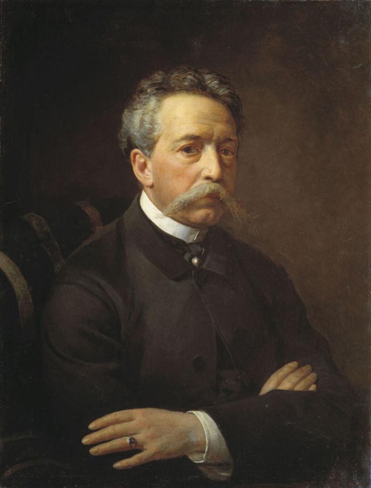 В. Бобров, «Григорий Григорьевич Гагарин», 1867 г.