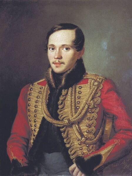 П. Е. Заболотский, «Михаил Юрьевич Лермонтов», 1837 г.
