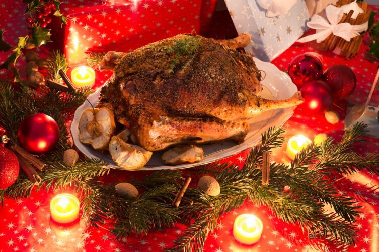Рождественский гусь