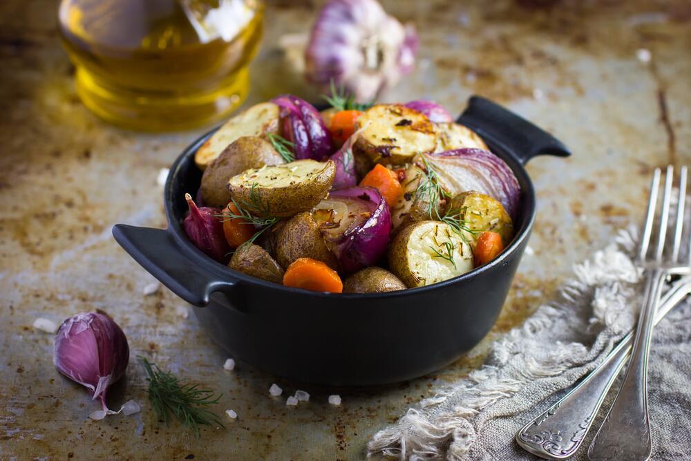 Как разнообразить вкус жареной картошки?