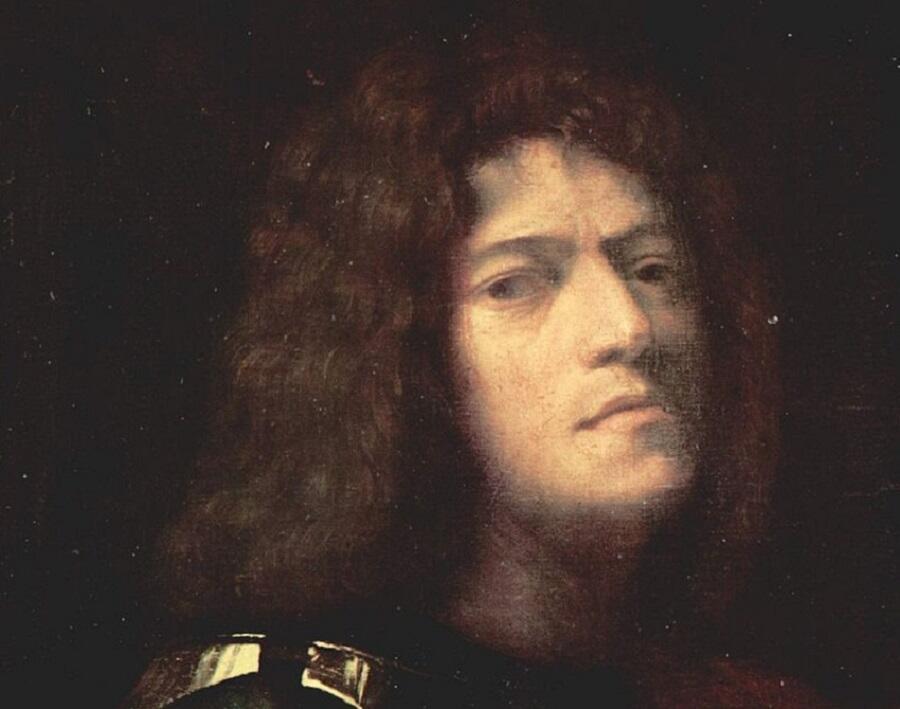 Джорджоне, автопортрет, фрагмент, 1500—1510 гг.