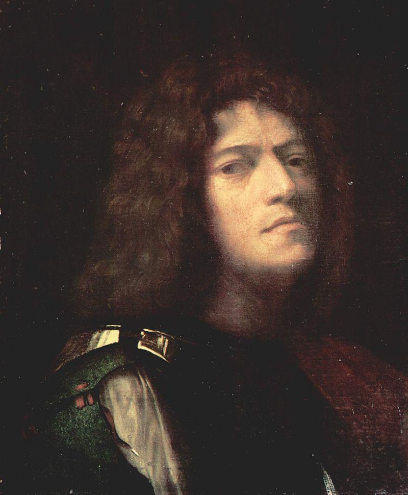 Джорджоне, автопортрет, 1500—1510 гг.