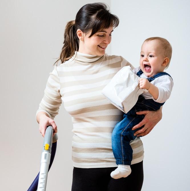 Взять под контроль. Как молодой маме все успевать?