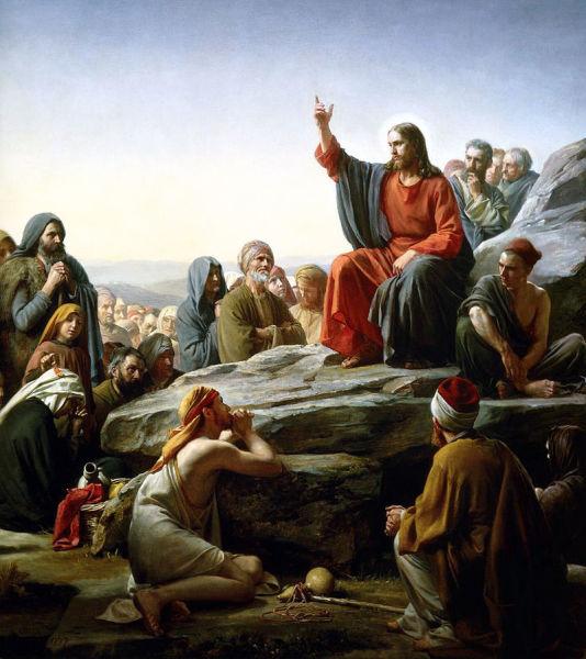 К. Г. Блох, «Нагорная проповедь», 1877 г.