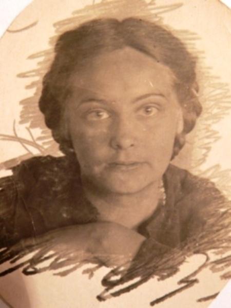 Июнь 1941г. Гарина М.О. - выпускница Балетной студии Воронежского театрального училища