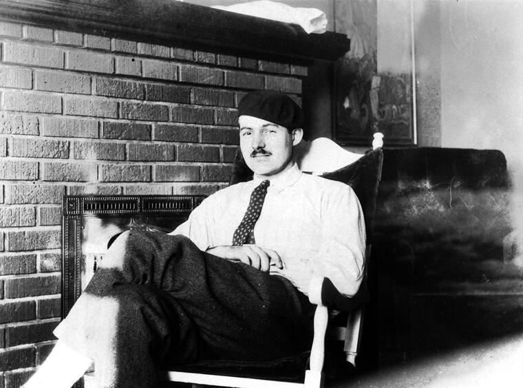 У Эрнеста Хемингуэя тоже была депрессия. Вот уж кого точно не назовешь слабохарактерным!