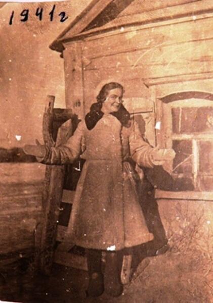 Ориентировочно декабрь 1941 г. г. Гарина М.О.