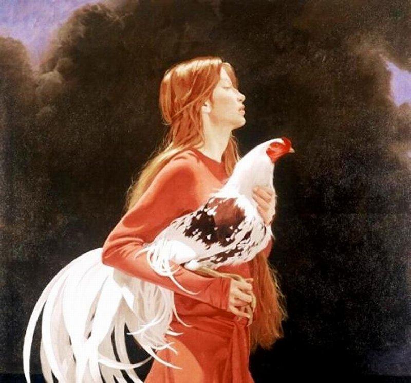 Почему женщин сравнивают с курицей