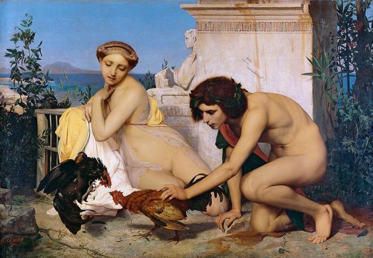 Жан-Леон Жером. «Петушиный бой»