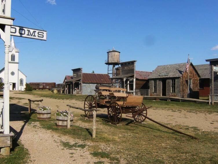 Где снимаются американские вестерны? Город 1880