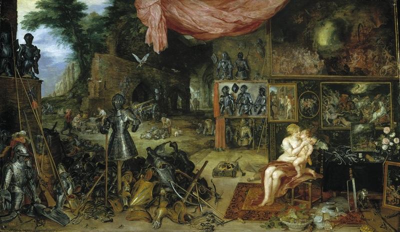 Рубенс, Ян Брейгель, «Осязание»