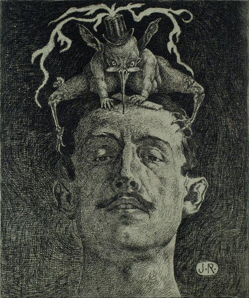 Картина Julio Ruelas (1870 - 1907)