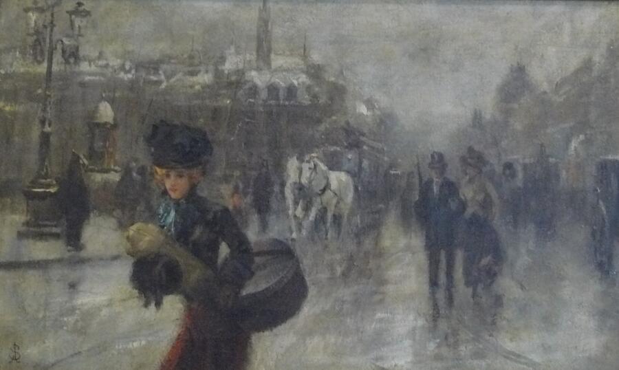 Альфред Эмиль Леопольд Стевенс, «Незнакомка», ок. 1888 г.