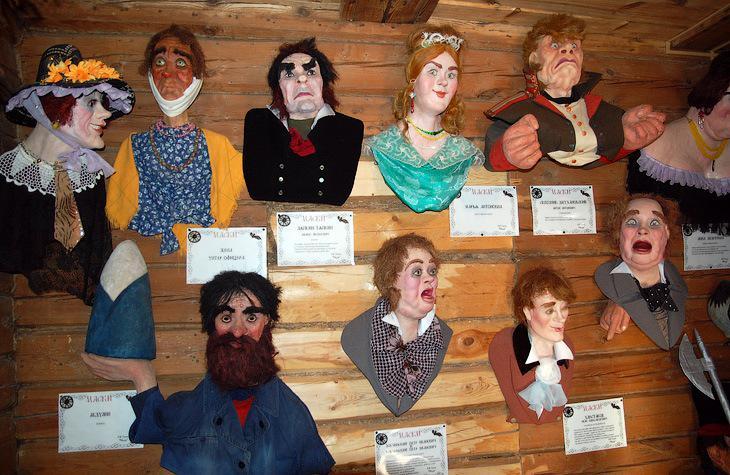 Музей масок в Переславле-Залесском