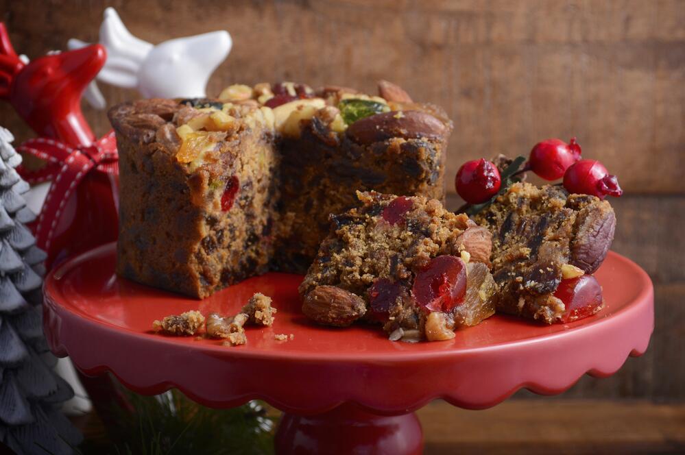 Как приготовить «долгий» рождественский кекс?