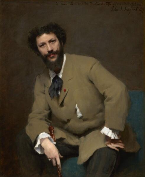 Джон Сингер Сарджент, «Портрет Каролюс-Дюрана», 1893 г.