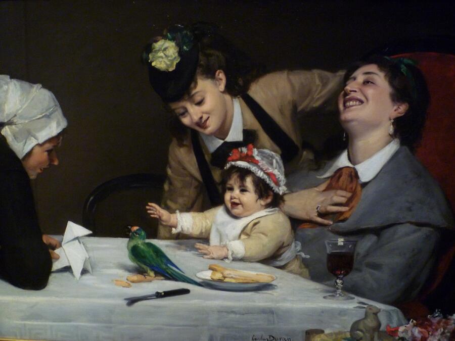 Каролюс-Дюран, «Безудержное веселье», 1870 г.