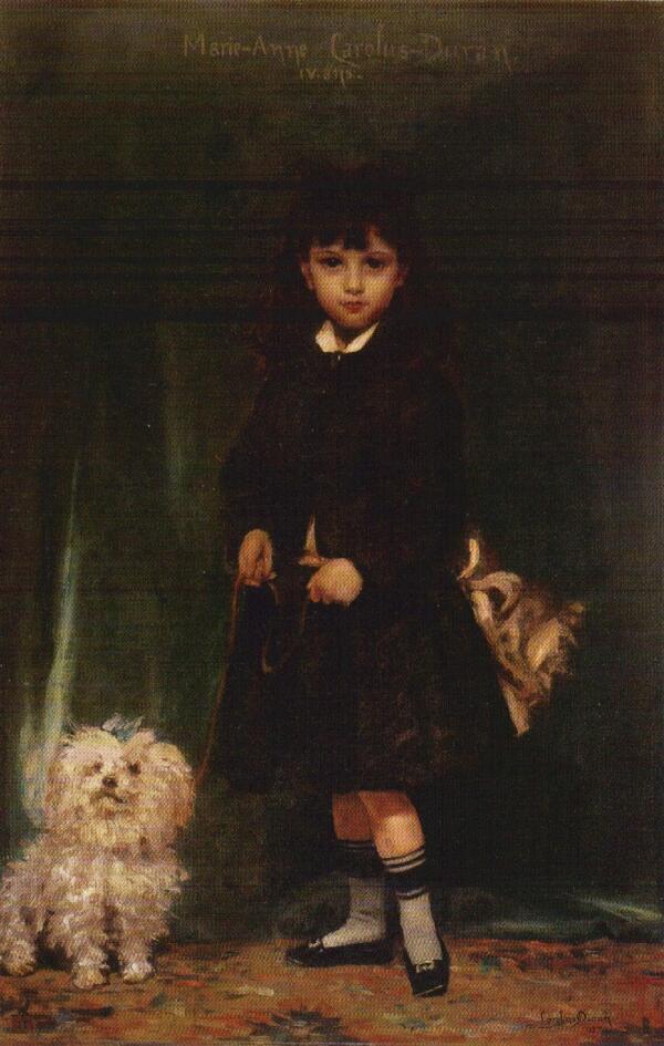 Каролюс-Дюран, Каролюс-Дюран, «Дочь художника Мари-Анна», 1874 г.
