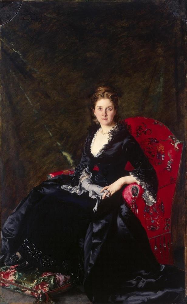 Каролюс-Дюран,Каролюс-Дюран, «Портрет Надежды Половцевой», 1876 г.