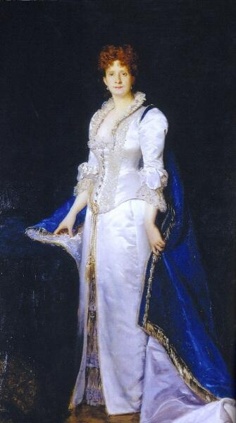 Каролюс-Дюран, «Портрет Марии Пиа, королевы Португалии», 1880 г.