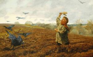 Артур Хьюз. Что завораживает в его картинах?