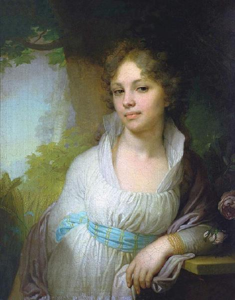В. Л. Боровиковский, «Портрет М. И. Лопухиной», 1797 г.