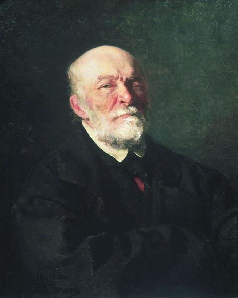И. Е. Репин, «Портрет Николая Пирогова», 1881 г.