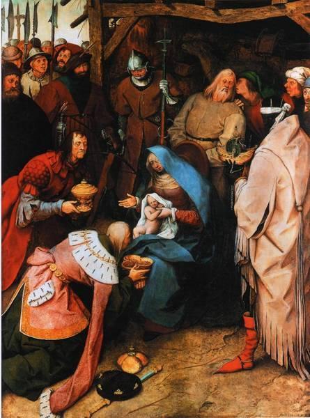 Питер Брейгель (Старший), «Поклонение волхвов», 1564 г.