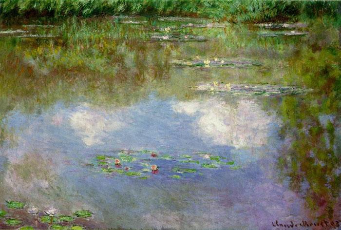 Клода Моне, «Водяные лилии», 1903 г.