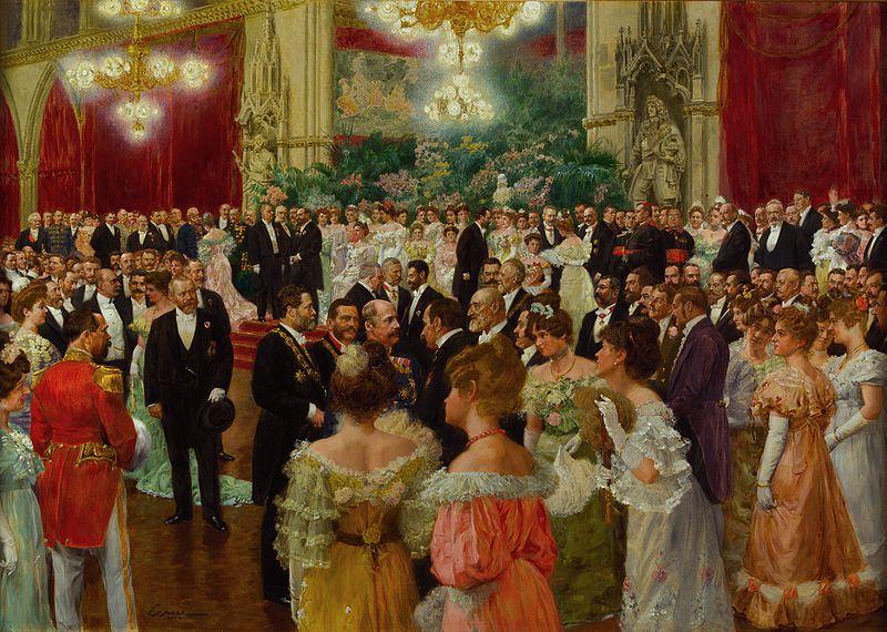 В. Гаузе, «Венский бал 1904 года»