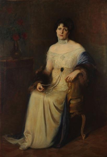 Эрнесто де ла Каркова, «Портрет жены художника», 1914 г.