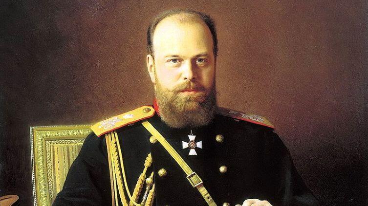 И. Крамской, «Александр III Александрович», фрагмент, 1886 г.