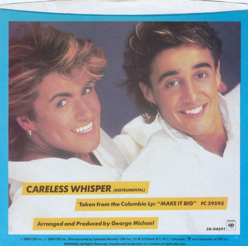 Какова история песни «Careless Whisper»? Памяти Джорджа Майкла