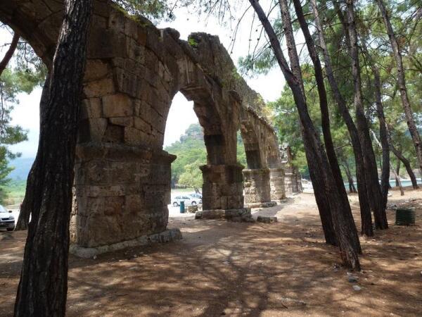 Античный город Фазелис. Хотите прикоснуться к истории?