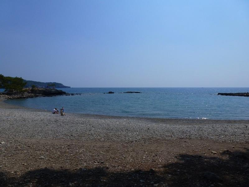 Пляж в Фазелисе