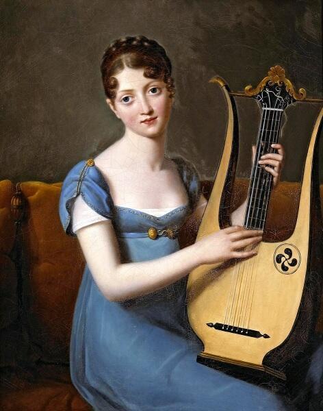 Франсуа Жерар, «Портрет мадам Рекамье», 1800 г.
