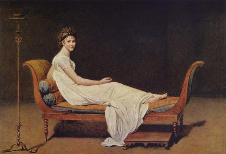 Жак Луи Давид, «Мадам Рекамье», 1800 г.