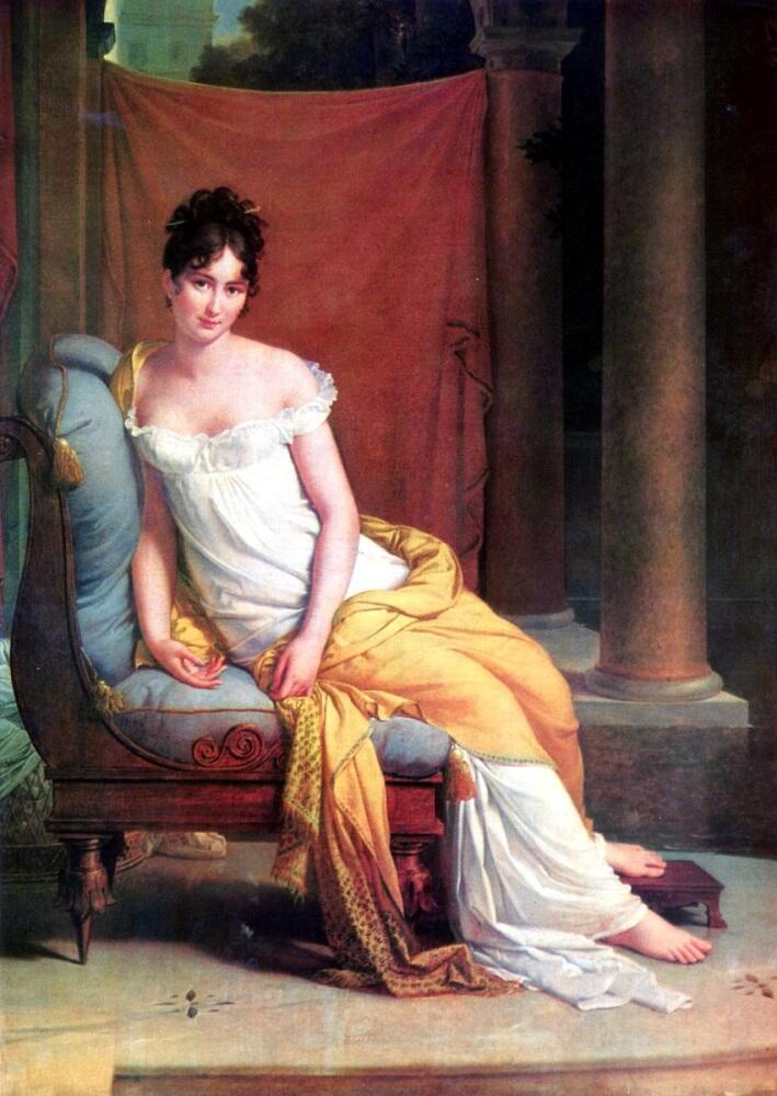Франсуа Жерар, «Портрет мадам Рекамье», 1805 г.